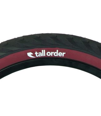 TALL ORDER WALL RIDE TIRE 20x2.30 dark red wall