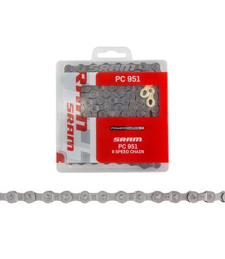 SRAM CHAIN  PC 951 9 SPEED 1/2x3/32