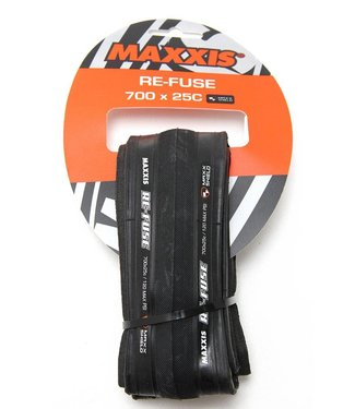 MAXXIS TIRES  REFUSE 700x25 BK FOLD/60 SC/MS