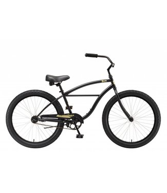 "SUN BICYCLES CRUISER 24"" REVOLUTION BLACK"