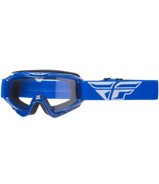 FLY RACING FOCUS ADULT GOGGLE BLUE W/CLEAR LENS