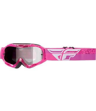 FLY RACING ZONE COMPOSITE GOGGLE GREY/PINK