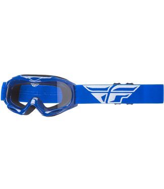 FLY RACING FOCUS YOUTH GOGGLE BLUE W/ CLEAR LENS