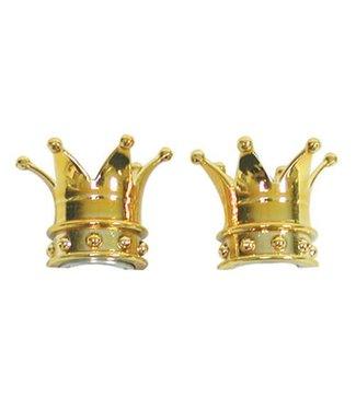 TRICKTOPZ VALVE CAPS CROWN GOLD