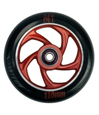 841 Forged 110 Scooter Wheel Red