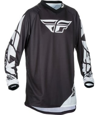 FLY RACING UNIVERSAL JERSEY BLACK M