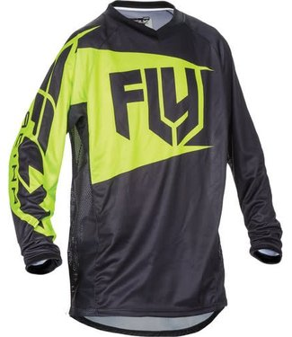 FLY RACING PATROL JERSEY BLACK/HI-VIS/YELLOW L