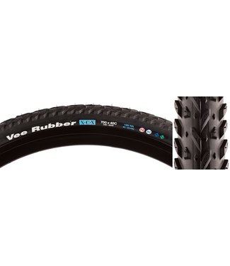Vee Tire Co. X-C-X Mountain Tire: 700x40C Folding Bead Black