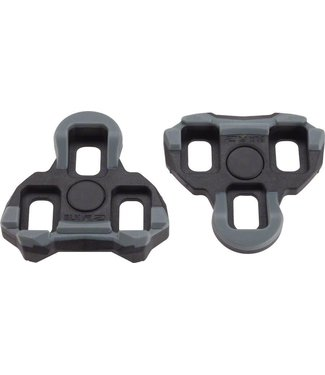 Exustar R2 Look Keo-Style Wide Beam Cleats, Fixed Black