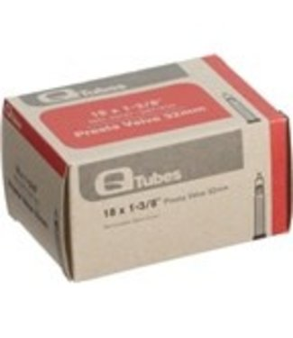 """Q-Tubes Q-Tubes 18"""" x 1-3/8"""" 32mm Presta Valve Tube"""