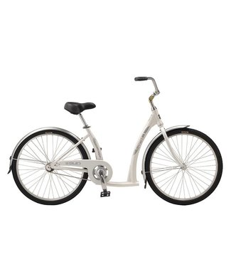 SUN BICYCLES STREAMWAY ALLOY 26 CB WHITE STEP THRU