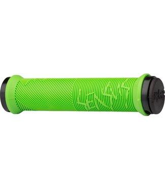 ODI Sensus Disisdaboss Lock-On Grips 143mm Lime Green