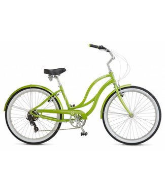 SCHWINN ALUMINUM 7 SPEED GREEN F