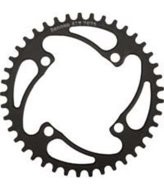 RENNEN 4 BOLT THREADED CHAINRING BLACK