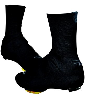 "DeFeet Slipstream Strada Shoe Cover: 5"" Black MD/LG"
