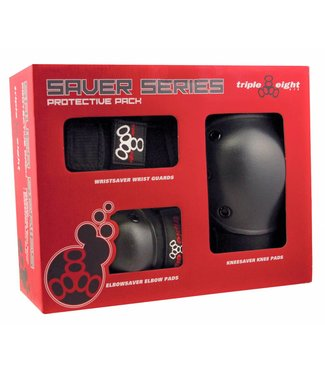 Triple Eight SAVER-3 ELBOW/KNEE/WRIST PADS