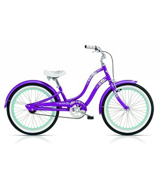 "ELECTRA KIDS 16"" GIRLS HAWAII  PURPLE"