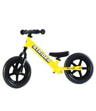 """Strider Sports Strider 12"""" Sport Balance Bike Yellow"""
