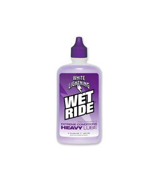 White Lightning Wet Ride Lube 4oz Drip