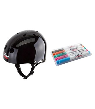 Triple Eight WIPEOUT HELMET YOUTH