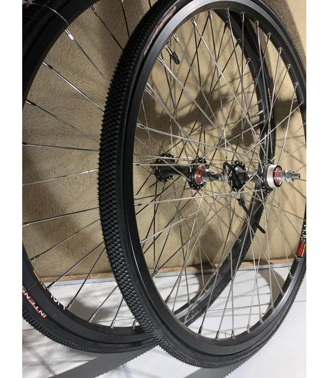 Bullet Proof Tires >> Wheel Set 24 X 1 1 8 Sc Bicycles