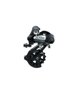 Shimano Shimano Altus RD-M310 Rear Derailleur - 7, 8 Speed, Long Cage, Black