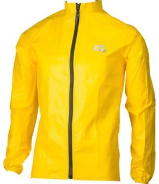 O2 Rainwear Element Series Rain Jacket: Yellow LG