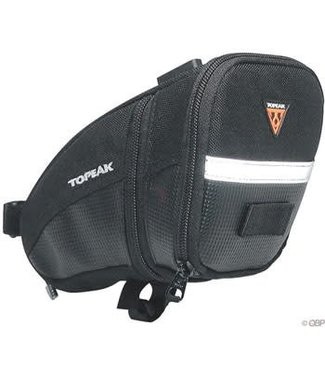 TOPEAK Topeak Aero Wedge Seat Bag: Large, Black