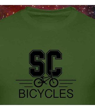 SC BICYCLES ARMY GREEN T-SHIRT