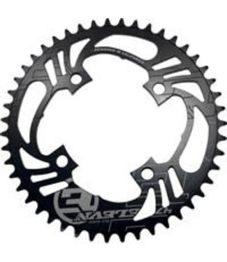 Elevn 4 BOLT FLOW CHAINRING BLACK 45T