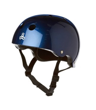 Triple Eight STANDARD LINER HELMET METALLIC BLUE