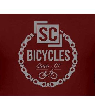 SC BICYCLES MAROON HOODIES (ADULT SIZES)
