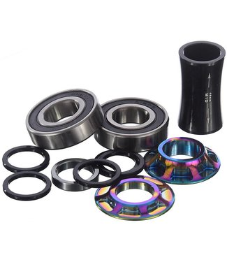 TOTAL BMX TEAM BB 19MM MID BOTTOM BRACKET RAINBOW