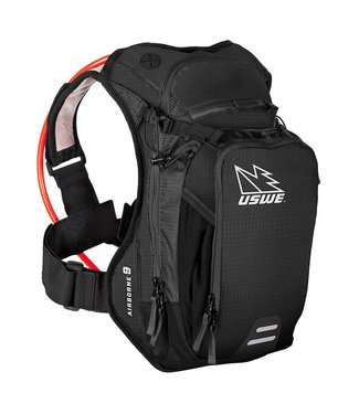 USWE AIRBORNE 9 3L ELITE BLADDER TRAVELPACK BK