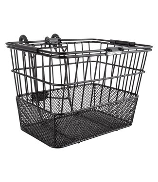 MESH BOTTOM LIFT OFF FRONT BASKET BLACK
