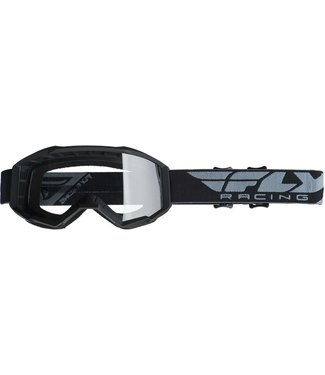 FLY RACING FOCUS GOGGLE BLACK/CLEAR