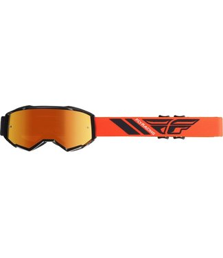 FLY RACING ZONE GOGGLE BLACK/ORANGE