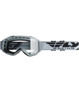 FLY RACING FOCUS GOGGLE GREY/CLEAR