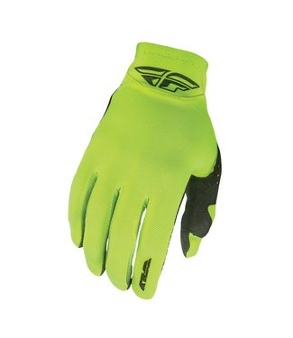 FLY RACING PRO LITE GLOVES - NEON YELLOW