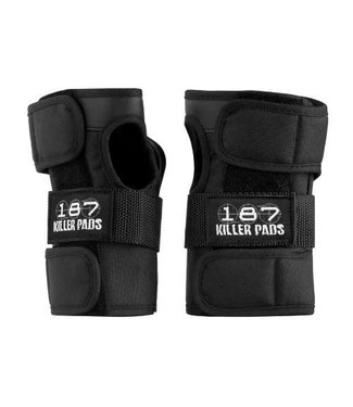 187 KILLER PADS WRIST GUARDS BLACK