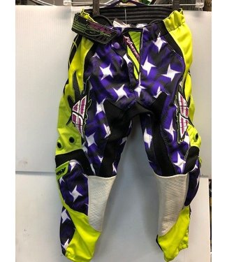 FLY RACING KINETIC RACING PANTS - SIZE 22 (CLEARANCE)
