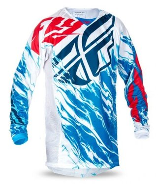 FLY RACING KINETIC RELAPSE JERSEY RED/WHITE/BLUE