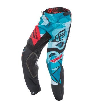 FLY RACING KINETIC CRUX PANT RED/BLUE SZ 38