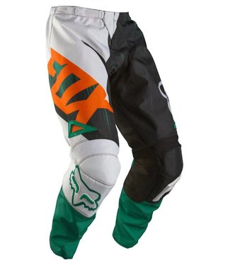 Fox Racing YOUTH 180 Vandal Pants SZ 24 GRN/ORG