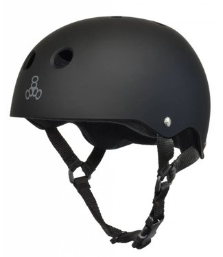Triple Eight SWEATSAVER HELMET MATTE BLACK/BLACK