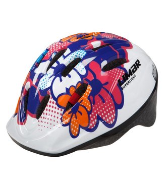 LIMAR 123 FLOWERS YOUTH HELMET S