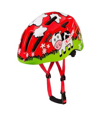 LIMAR 224 RED GRAZING YOUTH HELMET S