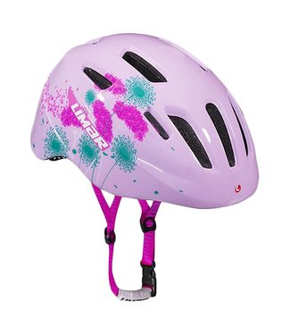 LIMAR 249 PINK FLOWERS YOUTH HELMET M