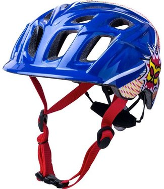 Kali Protectives CHAKRA POW YOUTH HELMET BLU/RED ONE SIZE