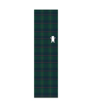GRIZZLY PLAID CUTOUT GRIPTAPE GRN/BLU